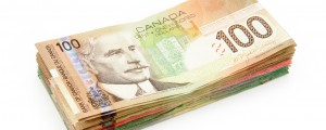 Canadian $100 bills