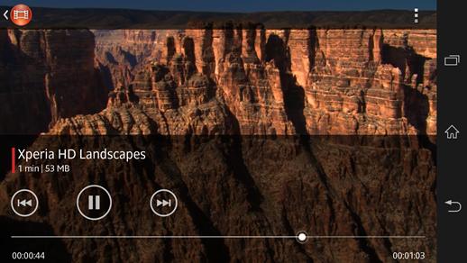 Sony Xperia Zl videos