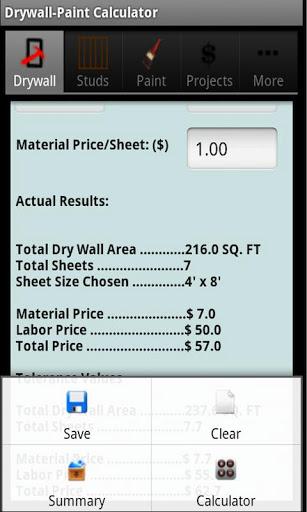 drywall calculators