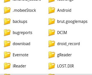 File Manager for Adroid