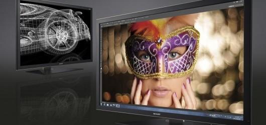 Sharp PN-K321 monitor