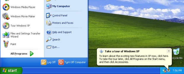 Windows XP.