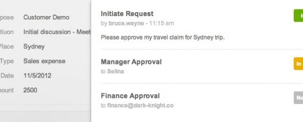 Provided - Kissflow approval form