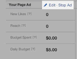 Page ad stop