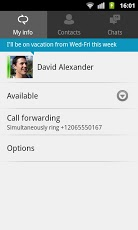 lync - android