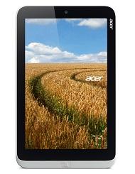 Acer Iconia W3 8-inch Windows tablet vertical forward wheatscreen