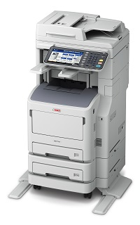 (Image: OKI Data Americas - MB770 in tall version)