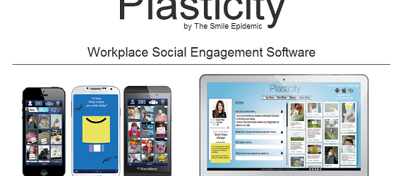 The Smile Epidemic's Plasticity software for mobile and desktop.
