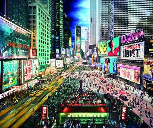 1691-WILKES-Stephen-Wilkes-Times-Square