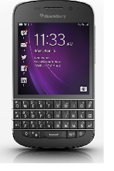 Sales of BlackBerry's BB10 handsets, including the BlackBerry Q10 pictured above, were disappointing.