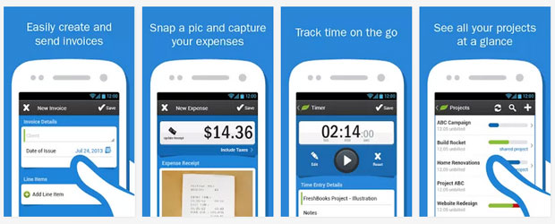 Things about Freshbooks App
