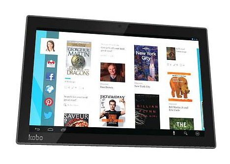 The Kobo Arc 10HD tablet.