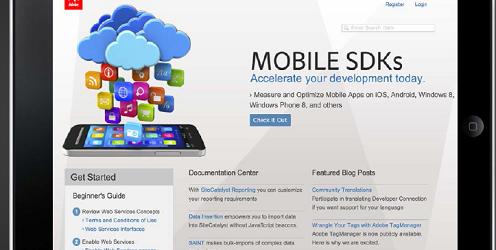 Adobe Analytics' software development kit.