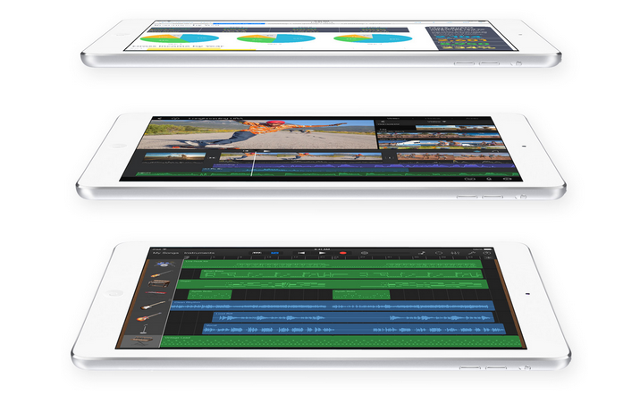 iPad Air profiles