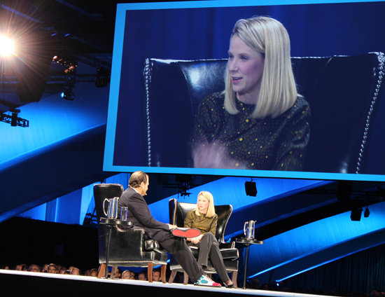 Yahoo CEO Marissa Mayer knew mobile was a priority when she took the helm.