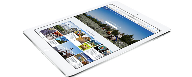 The current iPad Air, announced in October 2013.
