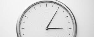 Analogue Clock - 3:05