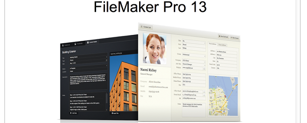 FileMaker Pro 13 has a handy Web browser version, ramped up