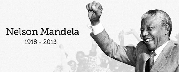 The image used on Bill Gates' blog to pay tribute to Nelson Mandela. (Image: thegatesnotes.com)