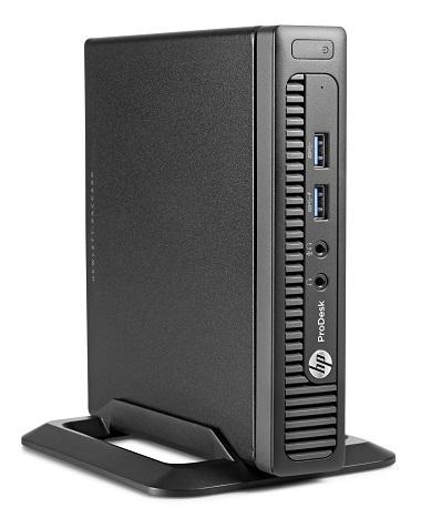 (Image: HP). The HP ProDesk 600 G1 Desktop Mini.