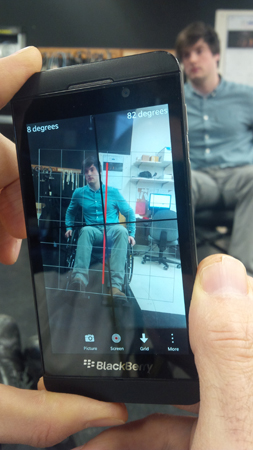 Lernaire's BAR app can determine what adjustments need to be made to a patient's wheelchair.