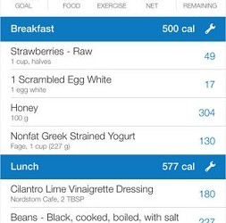 (Image: MyFitnessPal). The Calorie Counter & Diet Tracker app.
