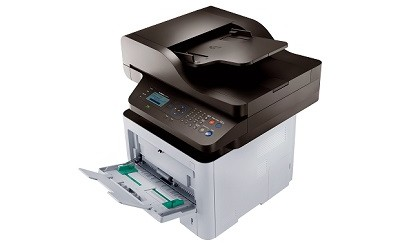 (Image: Samsung). A monochrome multifunction printer, the SL-M3870FW.