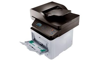 (Image: Samsung). A monochrome multifunction printer, the SL-M3870FW.
