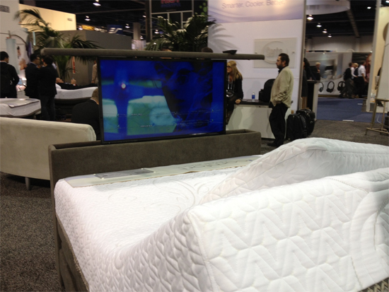 TV-in-bed