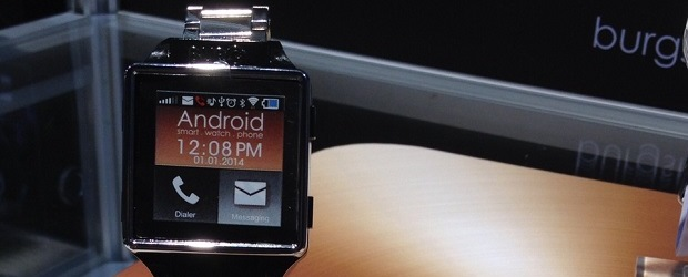 The Burg smart watch.