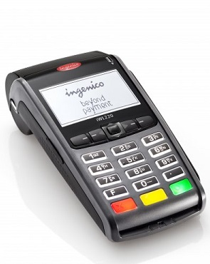 The IWL 220, the POS terminal used for the proof-of-concept with the MintChip platform. (Image: Ingenico)