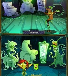 (Image: Ayogo). The Monster Manor game for children with Type 1 diabetes.