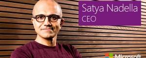 Satya Nadella, Microsoft CEO. (Image: Microsoft).