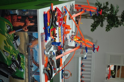 The Hot Wheels Ultimate Track play tables. (Image: Hot Wheels).