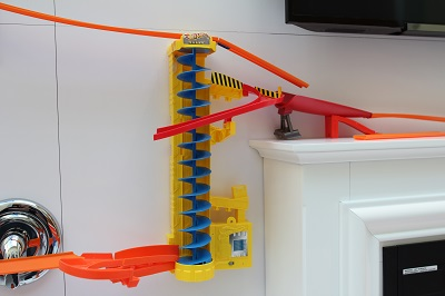 The Hot Wheels remote car launcher. (Image: Hot Wheels).