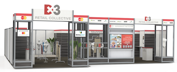 The Retail Collective, a group of curated retail technologies at Dx3 2014. (Image: Dx3).