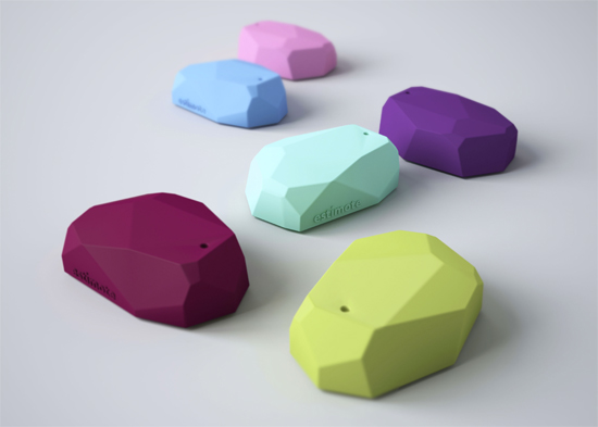 Estimote wraps its beacons in a colourful plastic shell. (Image: Estimote)