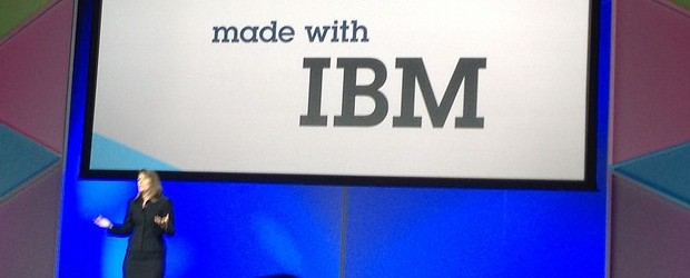 Marie Wieck, general manager of IBM's MobileFirst at IBM Impact. (Image: IBM).