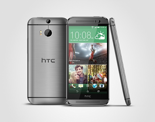 The HTC One (M8). (Image: HTC).