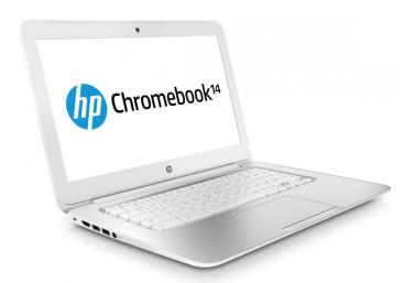 HP Chromebook 14 angle
