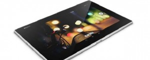 The Sony Xperia Z2 tablet. (Image: Sony Mobile).