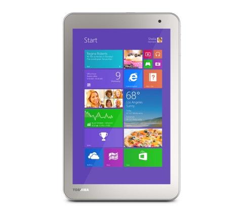 The Toshiba Encore 2 tablet. (Image: Toshiba).