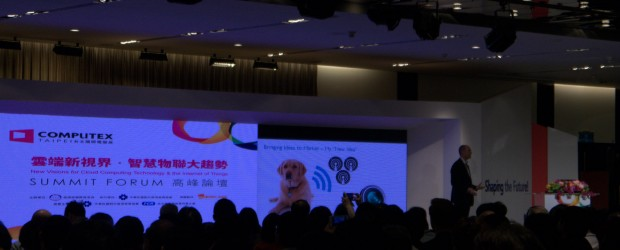 ARM CEO Simon Segars at COMPUTEX TAIWAN's SUMMIT FORUM