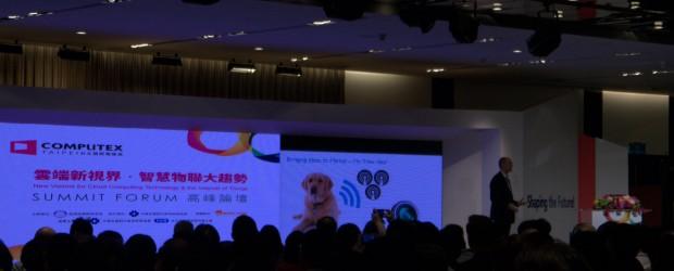 ARM CEO Simon Segars at COMPUTEX TAIWAN's SUMMIT FORUM