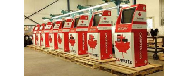 Six new Bitcoin teller machines are coming to Toronto. (Image: CAVIRTEX).