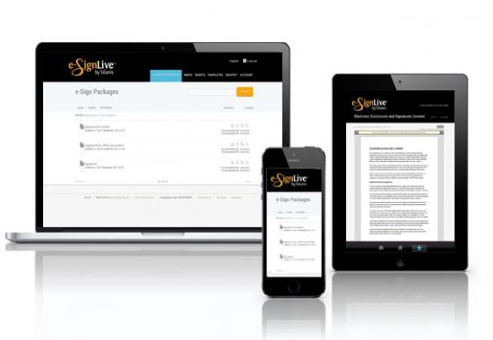 Silanis' solution is available on mobile formats and laptops or desktops too.