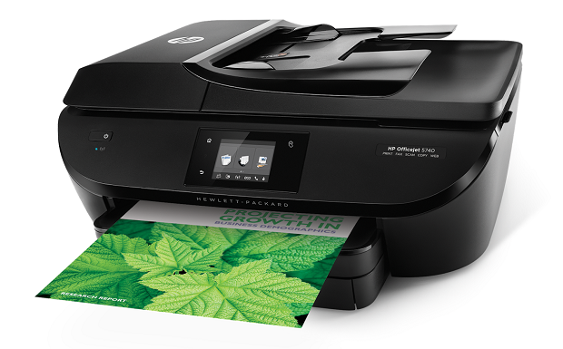 The HP Officejet 5740. (Image: HP).