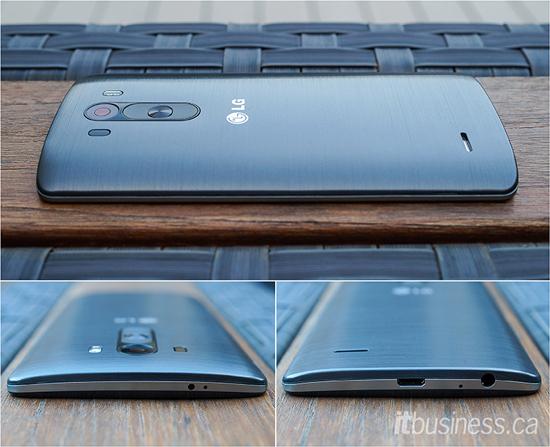LG G3 multiple angles