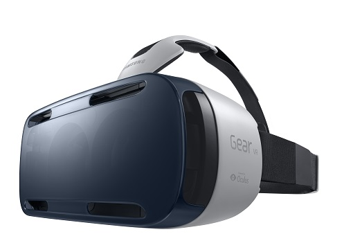 The Samsung Gear VR. (Image: Samsung).