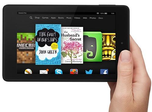 The Kindle Fire HD 6. (Image: Amazon).